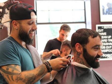 Pushing the bar! Barber, entrepreneur, philanthropist.