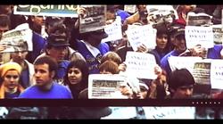 Itxieraren aurkako manifestazioa