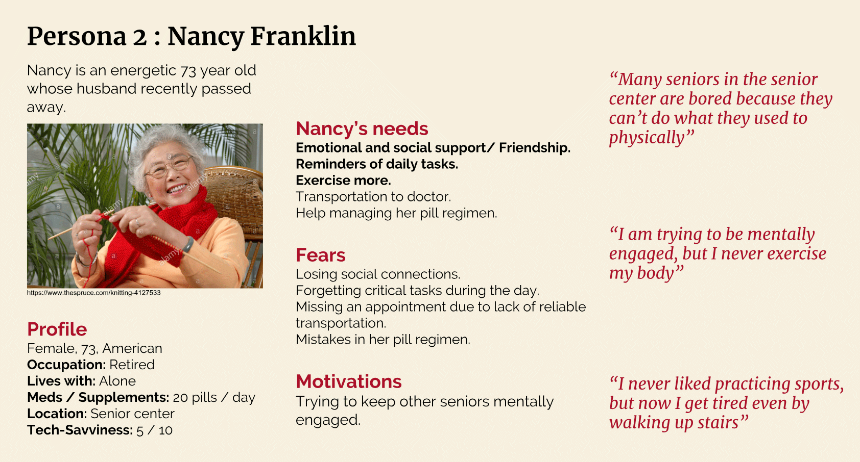 Persona 2: Nancy Franklin