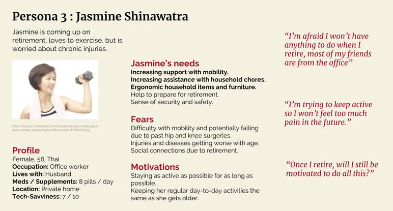 Persona 3: Jasmine Shinawatra