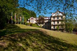 Hotel buitenaanzicht Zuid-Limburg
