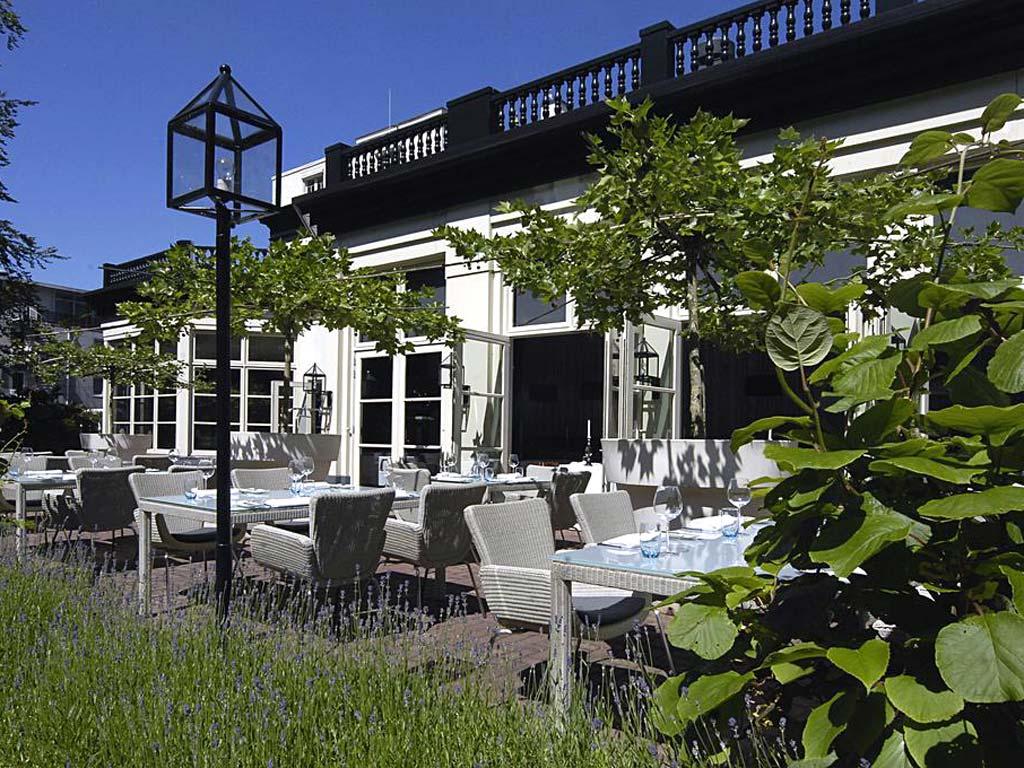Hotel Veluwe restaurant terras