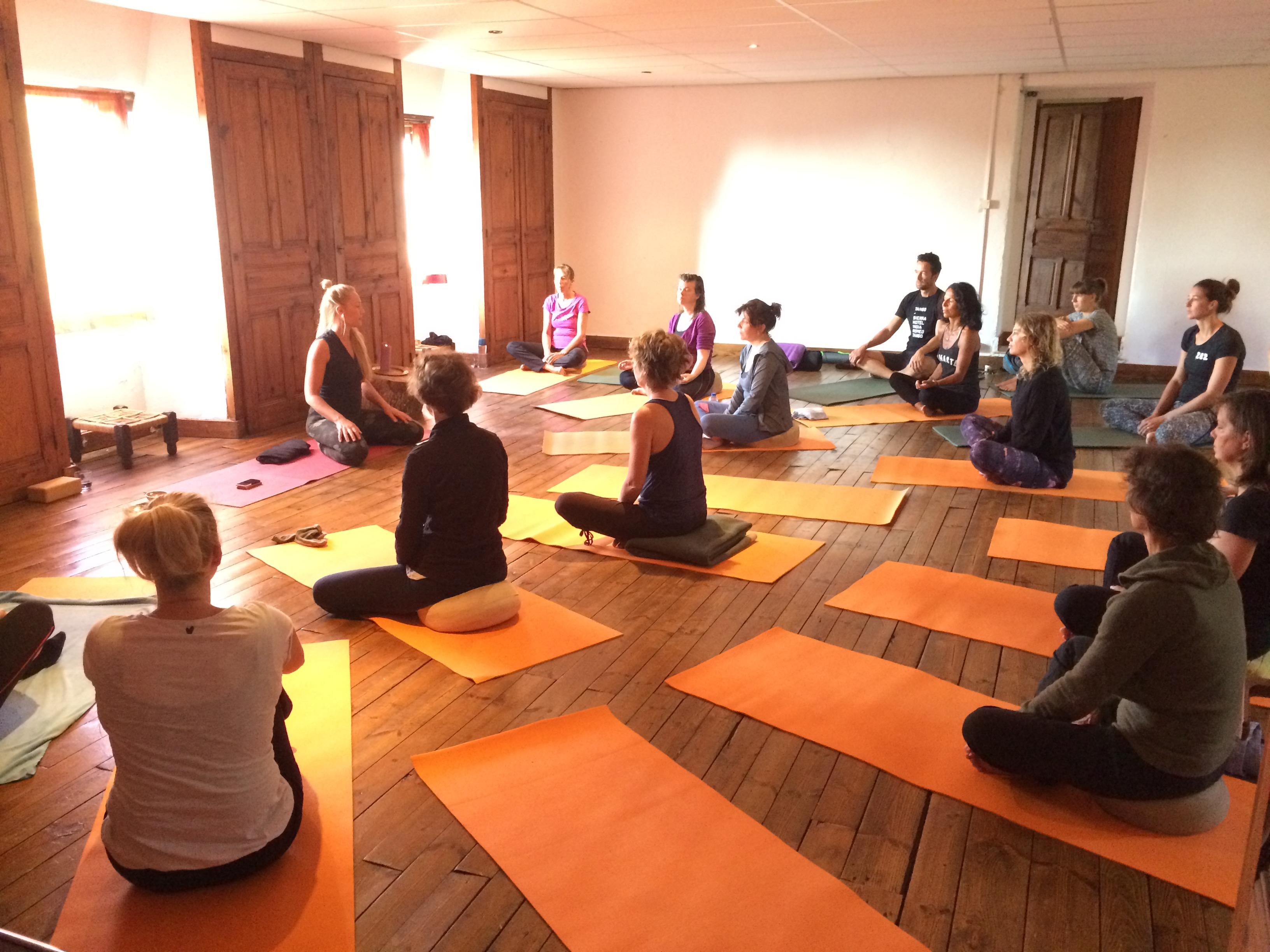 Yoga zolder