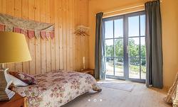 Preau slaapkamer veldhuis