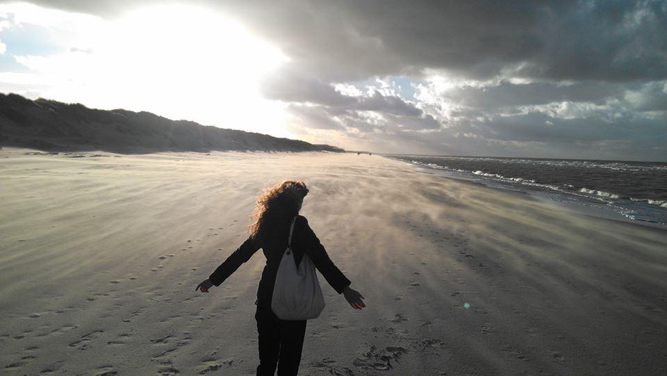 Eleonora aan zee