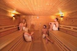 Sauna yoga weekend