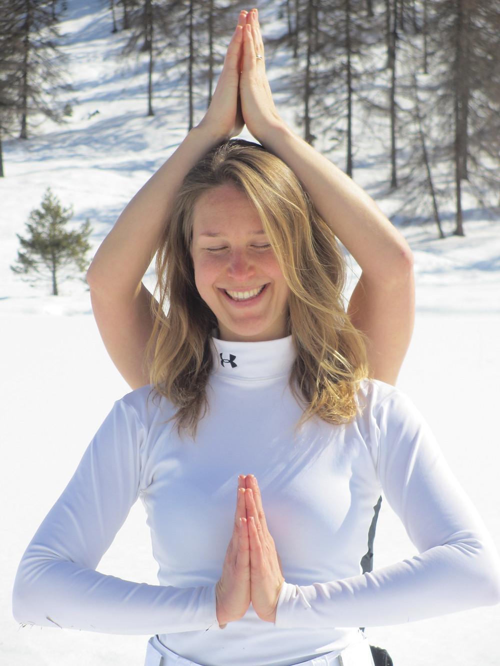 Gedachten op de ski's - Trix van Hest - FIT body & mind