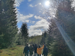 Am Our retreat wandeling