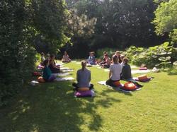 Zeeland retreat workshop buiten