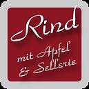 Rind mit Apfel und Sellerie