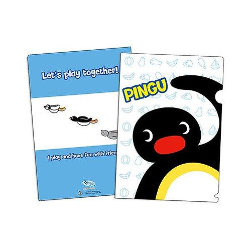 L型資料夾A款 (Pingu)