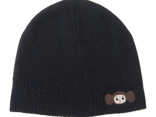 黑色毛帽-2B01款 (查布)
