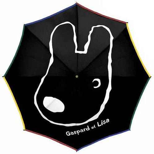 50cm黑色長雨傘 (麗卡)