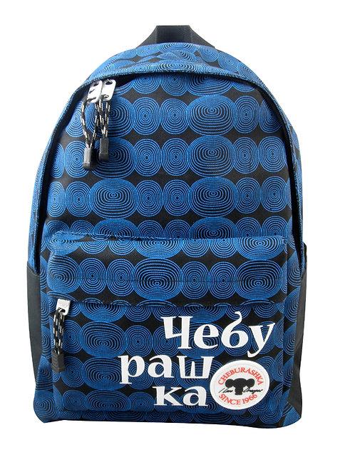 藍色後背包-B款 (查布)