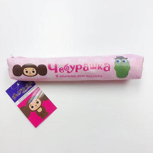 粉色筆袋 (查布)