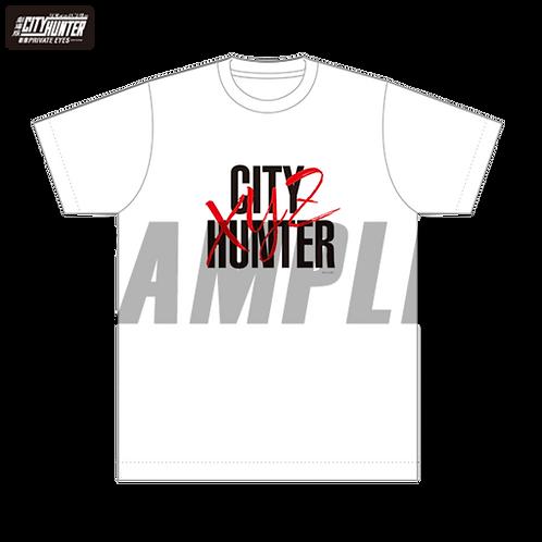 T恤(白)-劇場版城市獵人 (動漫)
