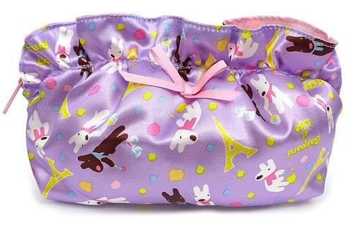 粉紫荷葉萬用包 (麗卡)