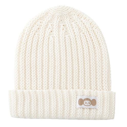 白色毛帽-2B02款 (查布)
