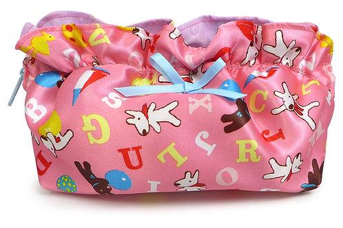 粉紅荷葉萬用包 (麗卡)