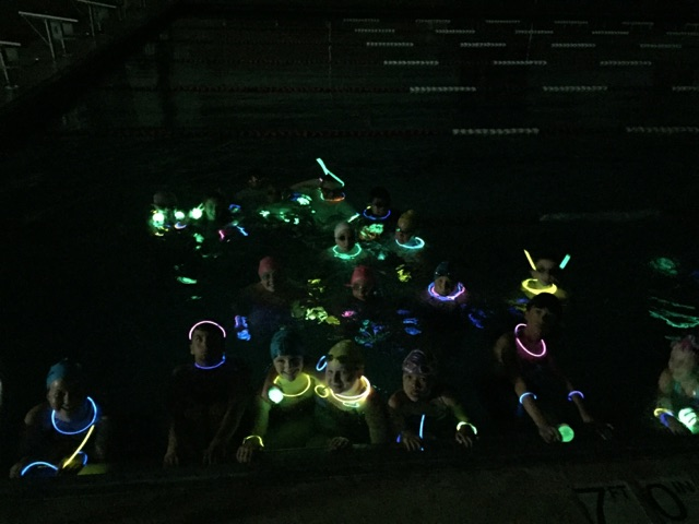 Swimmers Glow in the Dark