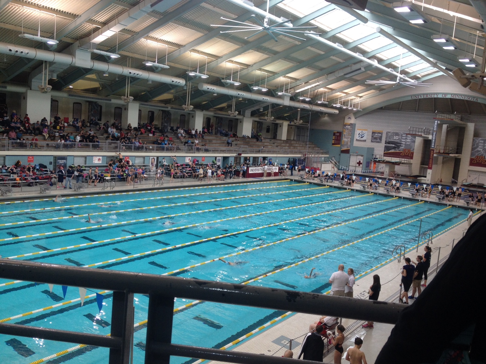 Swim Meet at the U of MN