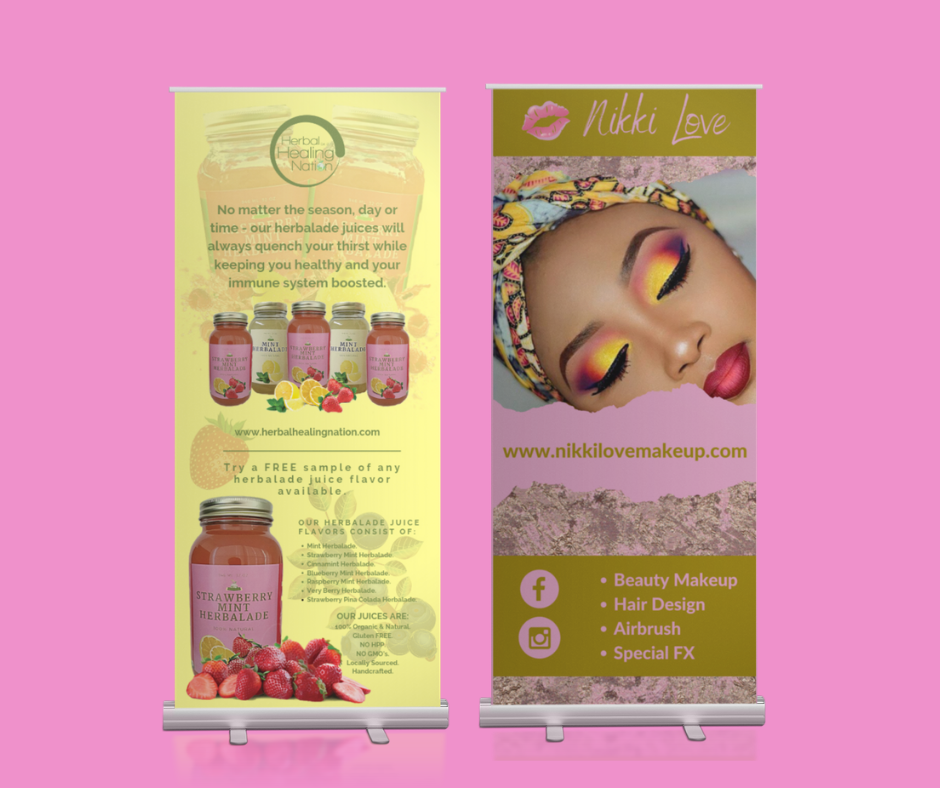 Retractable Banners.