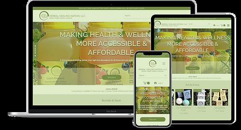 WIX Full E-Commerce Website.