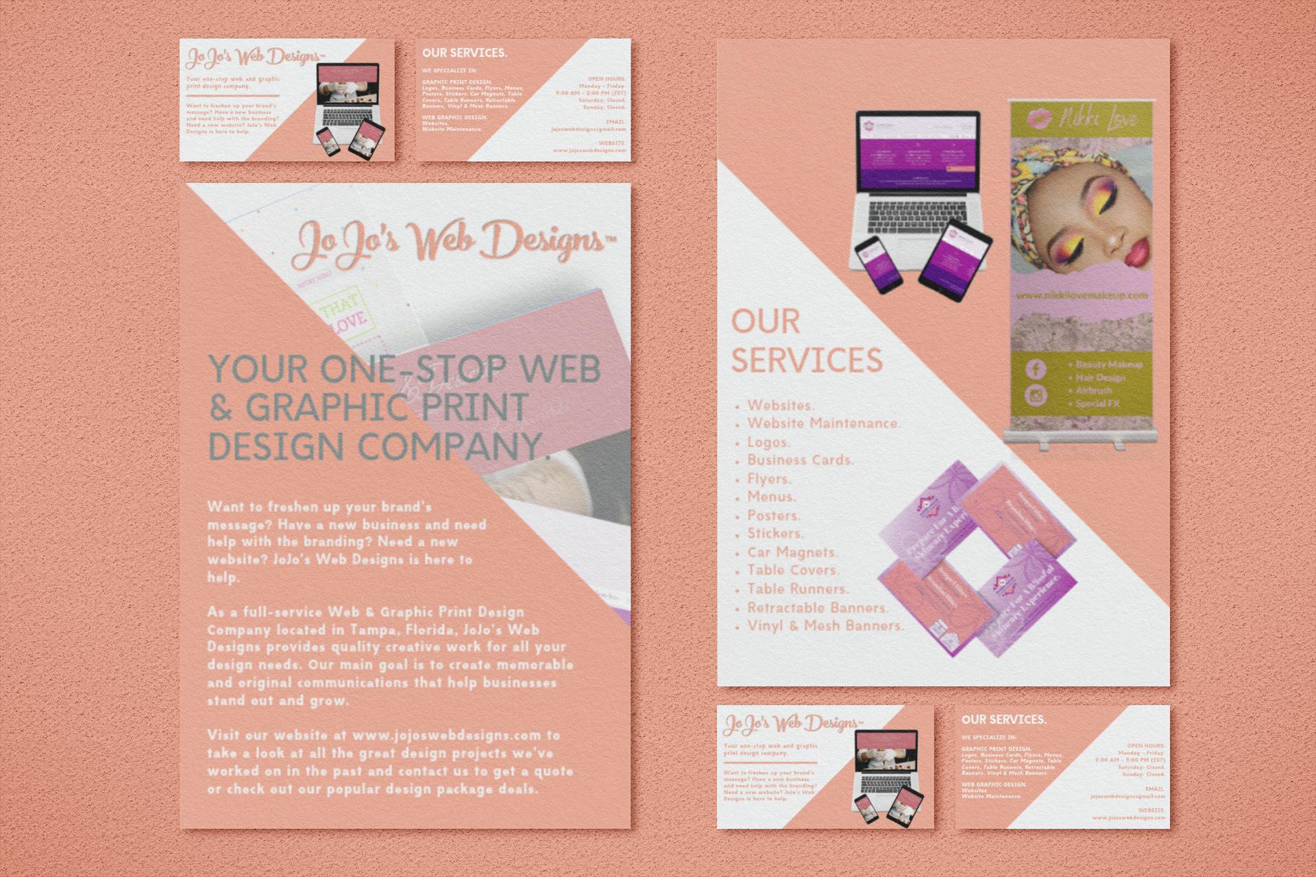 JoJo's Web Designs.