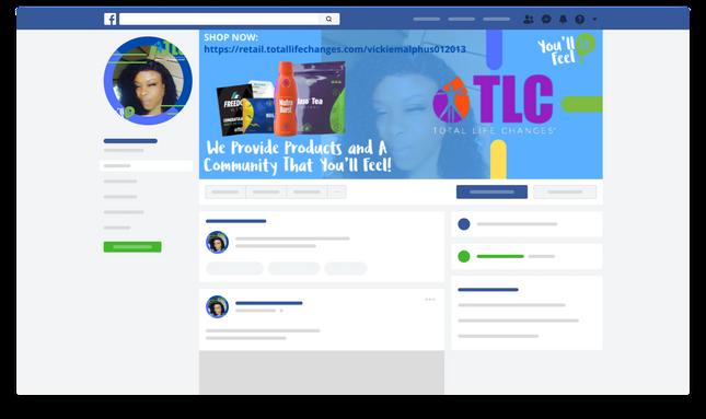 Vikie Facebook Social Media Kit.