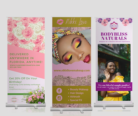 Retractable Banner Design.
