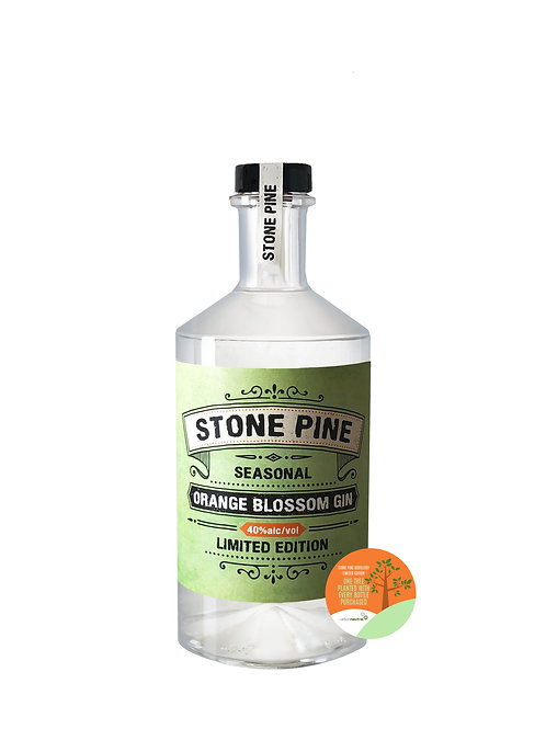 Stone Pine Orange Blossom Gin [Plant a Tree Limited Release] 40% 700ml