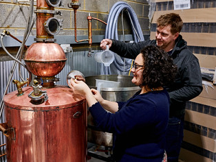 Meet the Distillers - Mick and Mel Sheard from Imbue Distillery in Ivanhoe, VIC