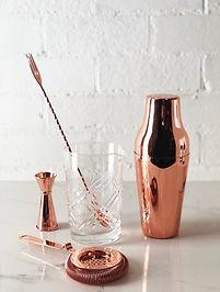 BarGEEK Copper Bar Set The Aussie Tipple