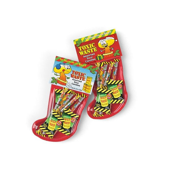 Toxic Waste Christmas stocking