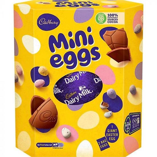 Cadbury Mini Eggs Giant Easter Egg 455g