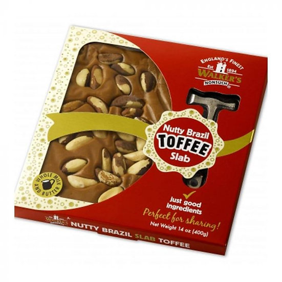 Walker's Nonsuch Nutty Brazil Toffee Hammer Pack 400g