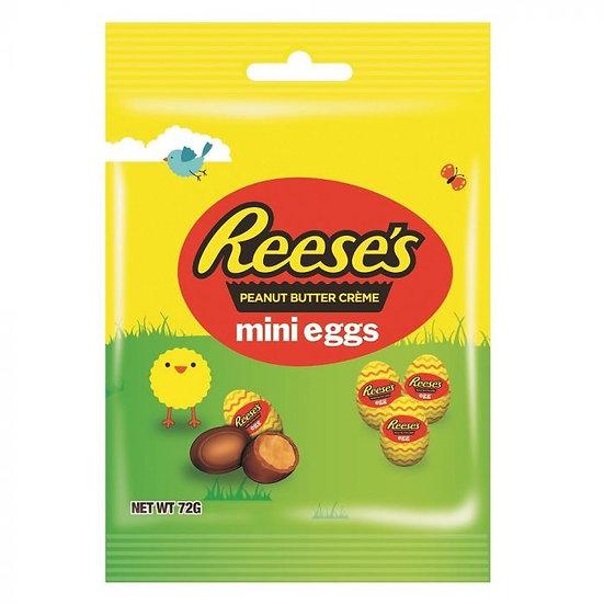 Reese's Peanut Butter Creme Mini Eggs Bag 70g
