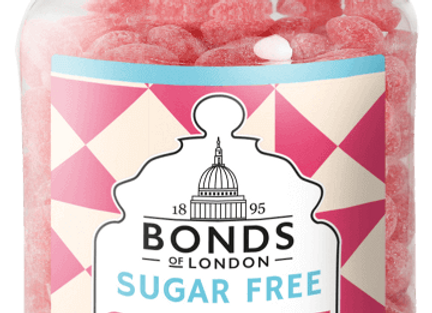 Bonds Sherbet Strawberries (Sugar Free)
