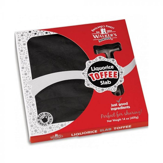Walker's Nonsuch Liquorice Hammer Pack Toffee 400g