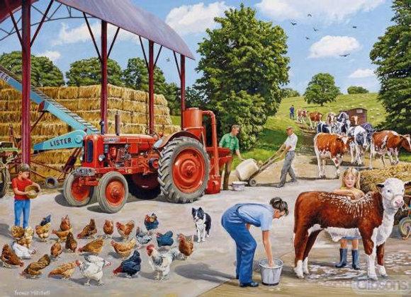 Gibson's Busy Farmyard (500)