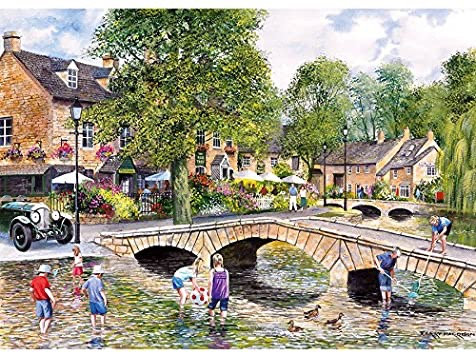 Gibson's Bourton on the Water (1000)