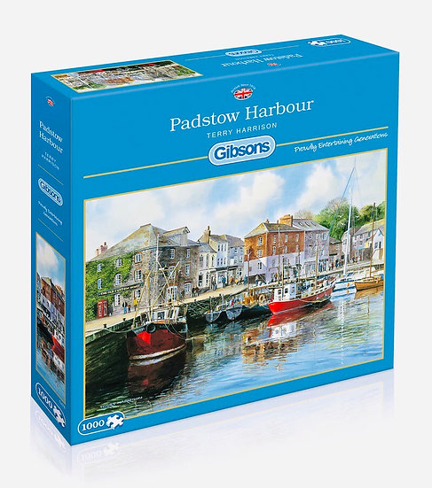 Gibson's Padstow Harbour (1000)