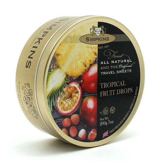 Simpkins Tin of Tropical Fruit Drops
