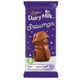 Dairy Milk Snowman