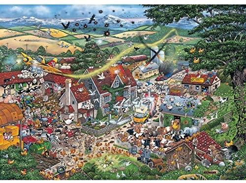Gibson's I Love the Farmyard (1000)