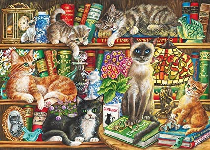 Gibson's Puss in Books (1000)