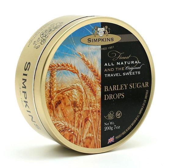 Simpkins Tin of Barley Sugar Drops