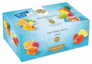 No Added Sugar New Berry Fruit Jewels