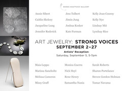 Art Jewelry : Strong Voices