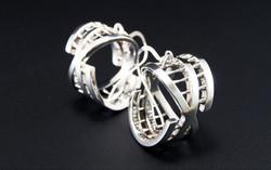 Interiority earrings